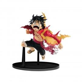 Figurine One Piece - BWFC Monkey D Luffy 12cm