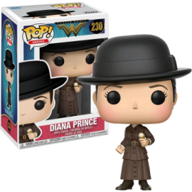 Dc Comics - Wonder Woman - Diana Prince with Ice Cream Pop 10cm