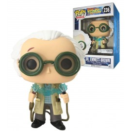 Figurine Retour vers le futur - Dr Emmet Brown LC Exclusive Pop 10 cm
