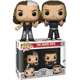 Figurine - WWE - Bi-Pack The Hardy Boyz Pop 10cm