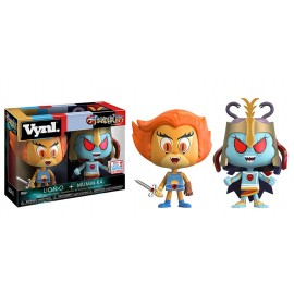 Figurine Thundercats/Cosmocats - 2Pack Lion-O & Mumm-Ra Vynl Fall Convention exclusive 2017 10cm