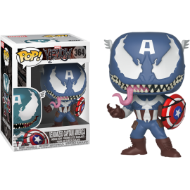 Figurine Marvel - Venom - Venomized Captain America Pop 10 cm