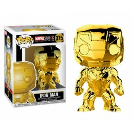 Figurine Marvel Studios - Iron man Chrome Pop 10cm
