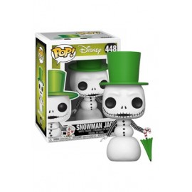 Figurine Nightmare Before Christmas - Snowman Jack Pop 10cm