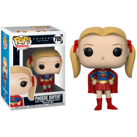 Figurine F.R.I.E.N.D.S - Pheobe Buffay as Supergirl Pop 10cm