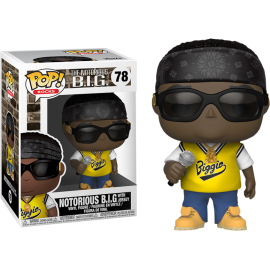 Figurine Notorious Big - Notorious Big with Jersey Pop 10cm