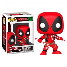 Figurine Marvel - Holiday Deadpool with Candy Pop 10cm