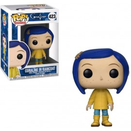 Figurine Coraline - Coraline in Raincoat Pop 10cm