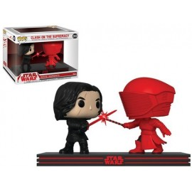 Figurine Star Wars - Bi-Pack Movie Moments Clash on the Supremacy Bi-Pack Kylo & Praetorian Guard Pop 10cm