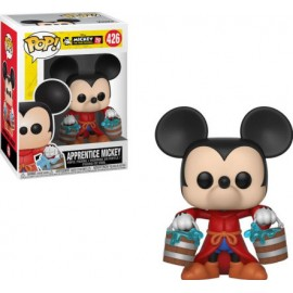 Figurine Disney - Mickey 90th Anniversary - Apprentice Mickey Pop 10cm