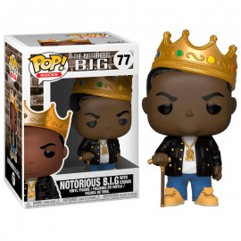 Figurine Notorious Big - Notorious Big with Crown Pop 10cm