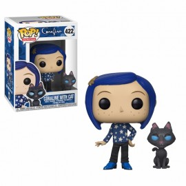 Figurine Coraline - Coraline with Cat Buddy Pop 10cm