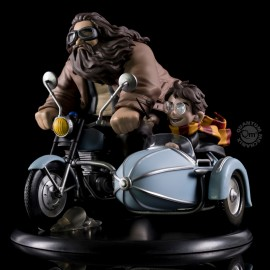 Figurine Harry Potter - Q-Fig MAX Harry Potter and Rubeus Hagrid 15cm