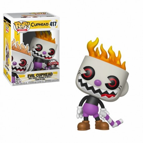 Figurine Cuphead - Evil Cuphead Exclusive Pop 10cm