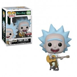 Figurine Rick and Morty - Tiny Rick with Guitar Exclusive Pop 10cm