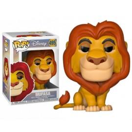 Figurine Disney - Le Roi Lion - Mufasa Pop 10cm