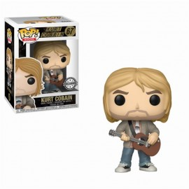 Figurine Rocks - Kurt Cobain MTV Unplugged Exclusive Pop 10cm