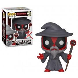 Figurine Marvel - Deadpool Playtime - Wizard Deadpool Exclusive Pop 10cm