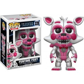 Figurine Five Nights at Freddy's Sister Location - Funtime Foxy Pop 10cm
