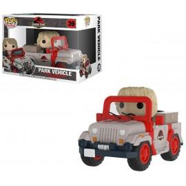 Figurine Jurassic Park - Park Vehicle Jeep with Ellie Sattler Pop Rides 15cm