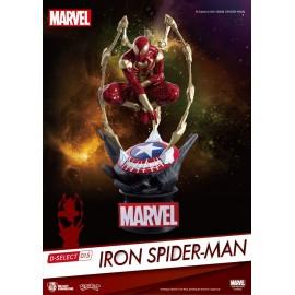Figurine Marvel - Diorama D-Select Iron Spider-Man 015 16cm