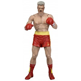 Figurine Rocky IV - Ivan Drago Short Rouge CCCP Version 40th Anniversary 18cm