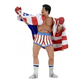 Figurine Rocky IV - Rocky Balboa Short US Flag Version 40th Anniversary 18cm
