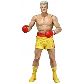 Figurine Rocky IV - Ivan Drago Short Jaune CCCP Version 40th Anniversary 18cm