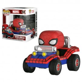 Figurine Marvel - Spider-Mobile Exclusive Rides Pop 15cm
