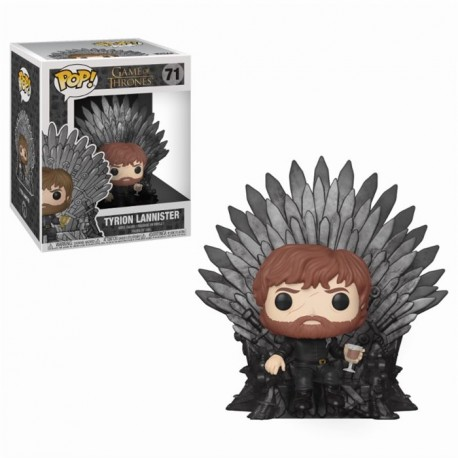 Figurine Game of Thrones - Tyrion Lannister on Iron Throne Oversized 15cm