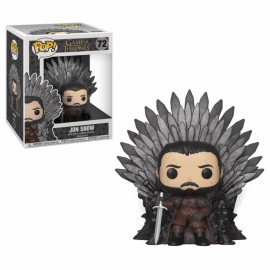 Figurine Game of Thrones - Jon Snow on Iron Throne Oversized 15cm