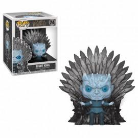 Figurine Game of Thrones - Night King on Iron Throne Oversized 15cm