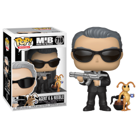 Figurine Men in Black - Agent K & Neeble Pop 10cm