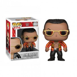 Figurine WWE - The Rock Old School Pop 10 cm