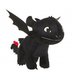 Peluche How to Train your Dragon 3 - Krokmou/Toothless Glow In The Dark 60cm