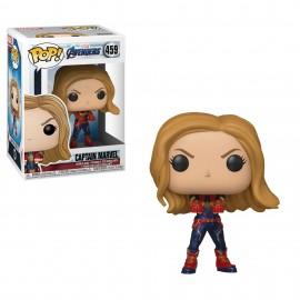 Figurine Marvel - Avengers Endgame - Captain Marvel Pop 10cm