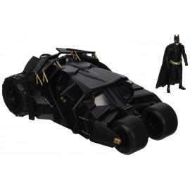 Figurine Batman The Dark Knight - Batmobile 2008 métal 1/24 avec figurine