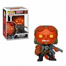 Figurine Hellboy - Hellboy with BPRD Tee Pop 10cm