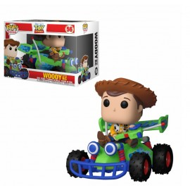 Figurine Toy Story - Woody with RC Rides Pop 15cm
