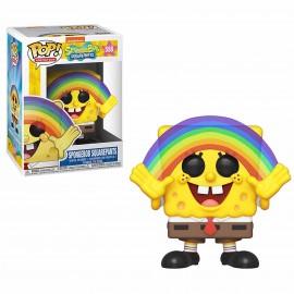Figurine Bob l'Eponge - Spongebob Squarepants Rainbow Pop 10cm