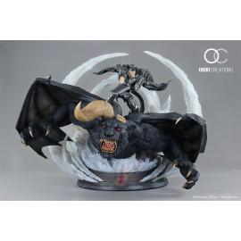 Statue Berserk - Guts & Zodd VS Ganishka Epic Diorama - Oniri Créations