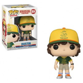 Figurine Stranger Things S3 - Dustin at Camp Pop 10 cm