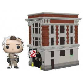 Figurine Ghostbusters 35th - Dr Peter Venkman with Firehouse Movie Moment Pop 20 cm