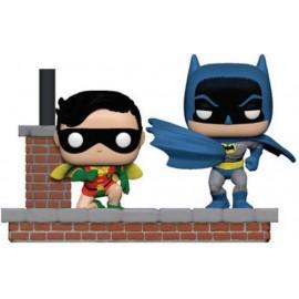 Batman - Batman 80th Comic moment - Look Batman and Robin - Pop 15 cm