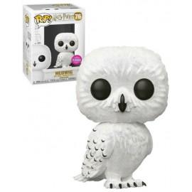 Figurine Harry Potter - Hedwig Flocked Exclusive Pop 10cm