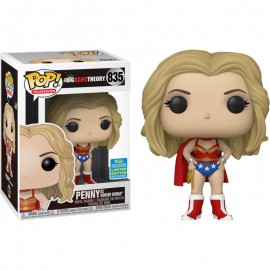 Figurine The Big Bang Theory - Penny as Wonder Woman SDCC Exclusive Pop 10cm