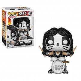 Figurine Rock - Kiss - The Catman Pop 10cm