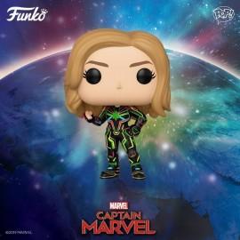 Figurine Marvel - Captain Marvel with Neon Suit Pop 10 cm