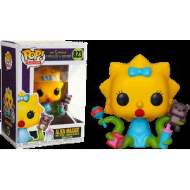 Figurine The Simpsons Treehouse of Horror - Alien Maggie Pop 10cm