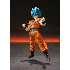 Figurine Dragon Ball Z - Super Saiyan God Super Saiyan Son Gokou S.H.Figuarts 14cm